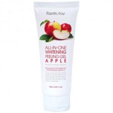 FarmStay All-In-one whitening peeling gel apple - Гель пилинг с экстрактом яблока 180мл