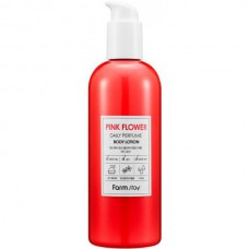 FarmStay Daily perfume body lotion - Лосьон для тела РОЗОВЫЕ ЦВЕТЫ 330мл