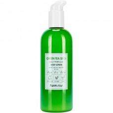 FarmStay Daily perfume body lotion - Лосьон для тела ЗЕЛЁНЫЙ ЧАЙ 330мл