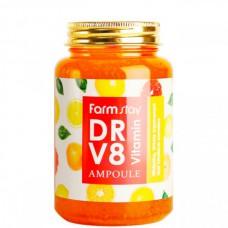 FarmStay DR-V8 Vitamin ampoule - Сыворотка ампульная с витаминным комплексом 250мл