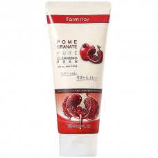 FarmStay Pomegranate pure cleansing foam - Пенка очищающая с экстрактом граната 180мл