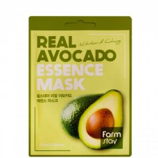 FarmStay Real avocado essence mask - Маска тканевая для лица с экстрактом авокадо 23мл