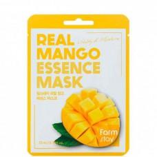 FarmStay Real mango essence mask - Маска тканевая для лица с экстрактом манго 23мл