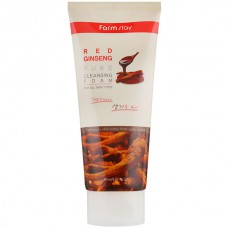 FarmStay Red ginseng pure cleansing foam - Пенка для лица с женьшенем 180мл
