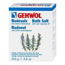 GEHWOL Classic Product Bath Salt - Геволь Соль для ванны с розмарином 10пак, 250гр