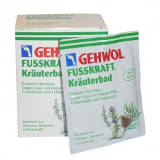 GEHWOL Fusskraft Herbal Bath - Травяная ванна для ног 10пак, 200гр