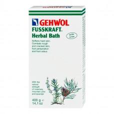 GEHWOL Fusskraft Herbal Bath - Травяная ванна для ног 400гр
