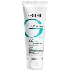 GIGI BIOPLASMA CC Cream SPF15 - Тональный СС крем для коррекции цвета кожи СЗФ 15, 75мл