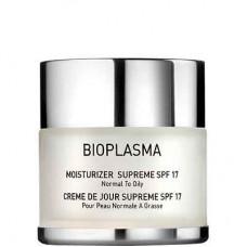 GIGI BIOPLASMA Moisturizer Supreme SPF17 - Увлажняющий крем для нормальной и жирной кожи СЗФ 17, 50мл