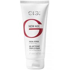 GIGI NEW AGE Facial Scrub - Кремообразный скраб для деликатного очищения кожи всех типов 180мл
