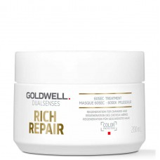 Goldwell Dualsenses Rich Repair 60sec Treatment - Уход за 60 секунд 200мл