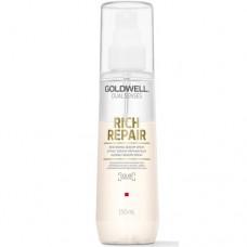 Goldwell Dualsenses Rich Repair Restoring Serum Spray - Несмываемый уход для термальной защиты волос 150мл