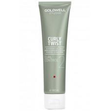 Goldwell StyleSign Curly Twist Curl Control - Увлажняющий крем для гладких локонов 100мл