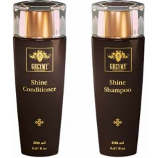 GREYMY SHINE COMPLEX: SHINE SHAMPOO + SHINE CONDITIONER - Набор Шампунь для Блеска + Кондиционер для Блеска 200 + 200мл