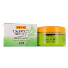 GUAM ALGASCRUB DREN-CELL - Скраб с эфирными маслами дренажный для тела 300мл