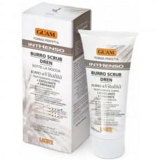 GUAM INTHENSO Burro Scrub Dren - Скраб для тела с маслом карите дренажный 150мл