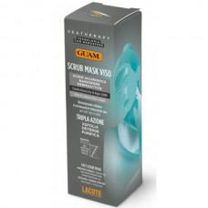 GUAM SEATHERAPY SCRUB MASK VISO - Маска-скраб для лица с Углем и Гиалуроновой кислотой 75мл