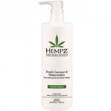 HEMPZ Body Wash Fresh Coconut & Watermelon Herbal - Гель для Душа Кокос и Арбуз 750мл
