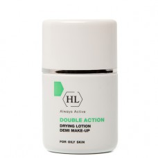 Holy Land Double Action Drying Lotion + Make Up - Подсушивающий Лосьон с Тоном 30мл