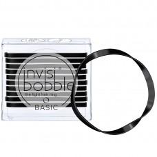 Invisibobble BASIC True Black - Резинка для волос цвет Чёрный 10шт