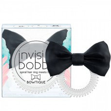 invisibobble BOWTIQUE True Black - Резинка-браслет для волос 1шт