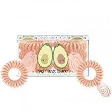 Invisibobble BFF - Набор резинок для волос, цвет Персиковый 3 + 3шт
