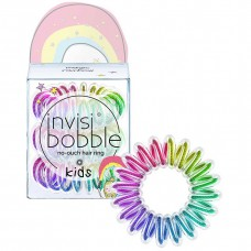 Invisibobble KIDS magic rainbow - Резинка-браслет для волос, цвет Радуга 3шт