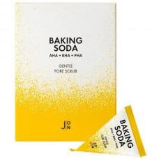 J:ON AHA + BHA + PHA BAKING SODA Gentle pore scrub - Скраб для лица с СОДОЙ 20 х 5гр