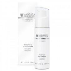 JANSSEN Cosmetics Demanding Skin Vitaforce C Skin Complex - Янссен Регенерирующий Концентрат с Витамином С 30мл