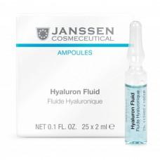 JANSSEN Cosmetics Ampoules Hyaluron Fluid - Янссен Ультраувлажняющая Сыворотка с Гиалуроновой Кислотой 25 х 2мл