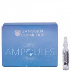JANSSEN Cosmetics Ampoules Мelafadin (skin lightening) - Янссен Осветляющие Ампулы 3 х 2мл