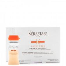 Kerastase FUSIO-DOSE CONCENTRE ANPLI-FORCE - Укрепляющий уход для усиления ослабленных волос 10 х 12мл