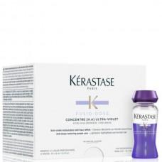 Kerastase FUSIO-DOSE CONCENTRE ULTRA-VIOLET - Уход для мгновенного восстановления и нейтрализации желтых полутонов 10 х 12мл