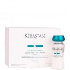Kerastase FUSIO-DOSE CONCENTRE VITA-CIMENT - Уход для мгновенного восстановления поврежденных волос 10 х 12мл