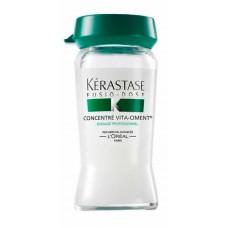 Kerastase Fusio-Dose Concentre Vita-Ciment - Укрепляющий концентрат для ослабленных волос 15 х 12мл