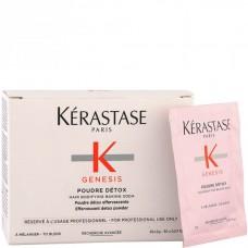 Kerastase GENESIS POUDRE DETOX - Детокс-Пудра для глубокого очищения кожи головы и уплотнения волос по длине 30 х 2гр