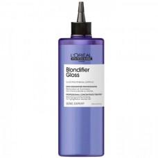 L'OREAL Professionnel Blondifier Gloss Concentre - Восстанавливающий концентрат для осветленных и мелированных волос 400мл
