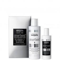 L'Oreal Professionnel Smartbond: Step 1 Active Concentrate + Step 2 Active Cream - Профессиональный комплект: Атактивный концентрат + Активный крем для волос 125 + 250м