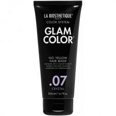 LA BIOSTHETIQUE GLAM COLOR No Yellow Hair Mask .07 Crystal - Тонирующая маска для волос 200мл