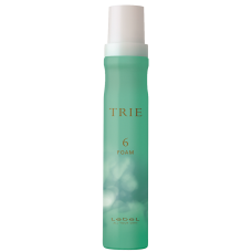 Lebel Trie Foam 6 - Пена для укладки волос средней фиксации 200мл