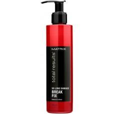 MATRIX total resalts™ SO LONG DAMAGE Break Fix - Несмываемый эликсир для восстановления волос с керамидами 200мл