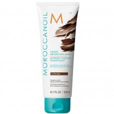 MOROCCANOIL COLOR DEPOSITING MASK COCOA - Маска тонирующая для волос КАКАО 200мл