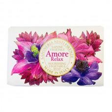 NESTI DANTE Amore Relax - Мыло для лица и тела Расслабляющее 170гр
