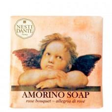 NESTI DANTE AMORINO SOAP Rose bouquet - Мыло Букет Роз (очищение и расслабление) 150мл