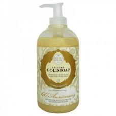 NESTI DANTE ANNIVERSARY 60th Anniversary Gold Liquid Soap - Мыло Жидкое Юбилейное Золотое для Всех Типов Кожи 250мл