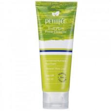 PETITFEE D Off Phyto Foam Cleanser - Очищающая и скрабирующая фито-пенка для лица 100мл