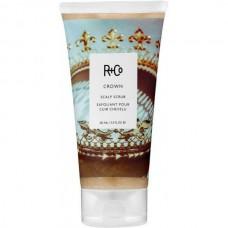 R+Co CROWN Scalp Scrub - КОРОНА Детокс-скраб для кожи головы Очищающий 162мл