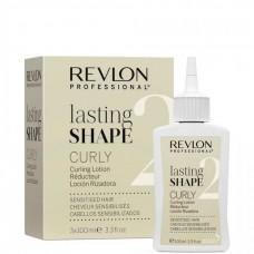 REVLON Professional lasting SHAPE Curly Lotion 2 - Лосьон для химической завивки для чувствительных волос 3 х 100мл