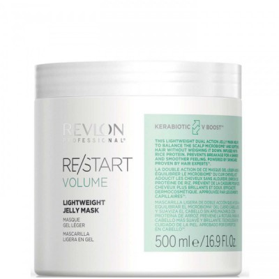 REVLON Professional RE/START VOLUME Lightweight Jelly Mask - Неутяжеляющая маска-желе для волос 500мл