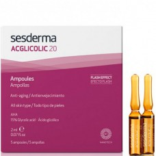 Sesderma ACGLICOLIC 20 Ampoules - Средство в Ампулах 5 x 2мл